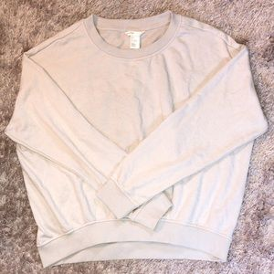 H&M basic beige sweatshirt
